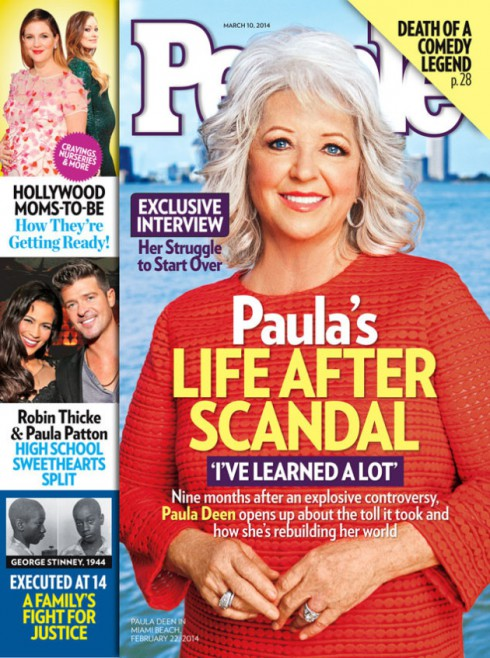 Paula Deen - People Magazine Cover - March 2014
