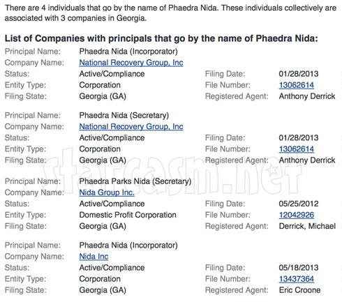 Phaedra Parks business partnerships with husband Apollo Nida