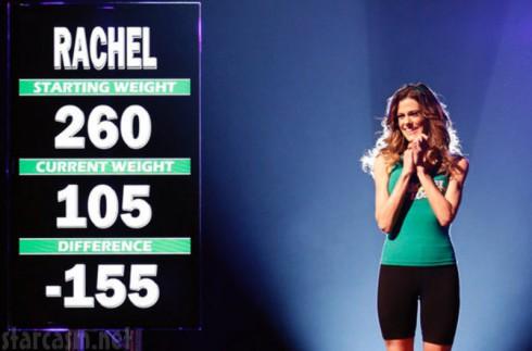 Rachel Frederickson - Biggest Loser Weight