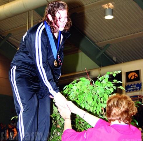 Rachel Frederickson Swimming - Biggest Loser