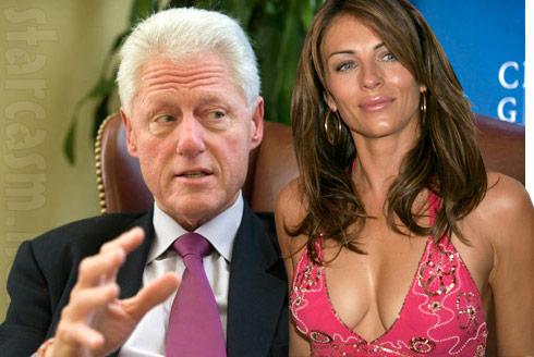 Bill Clinton and Elizabeth Hurley allegedly had an affair