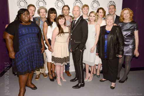 America Horror Story Coven Paleyfest 2014 group photo