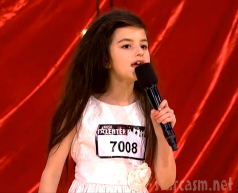 7-year-old Angelina Jordan on Norway's Got Talent singing Billie Holiday's Gloomy Sunday