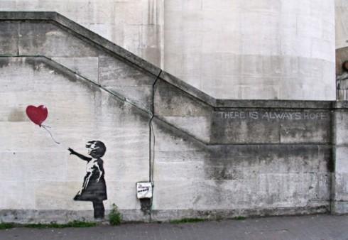 Banksy Balloon Girl Original