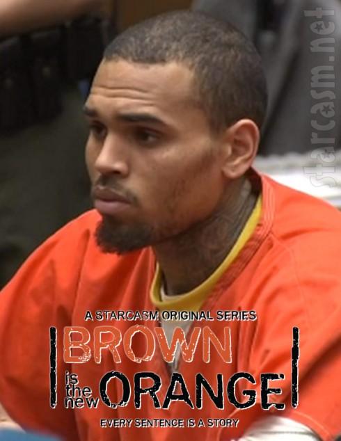 Chris Brown Is The New Orange - Orange Is The New Black parody