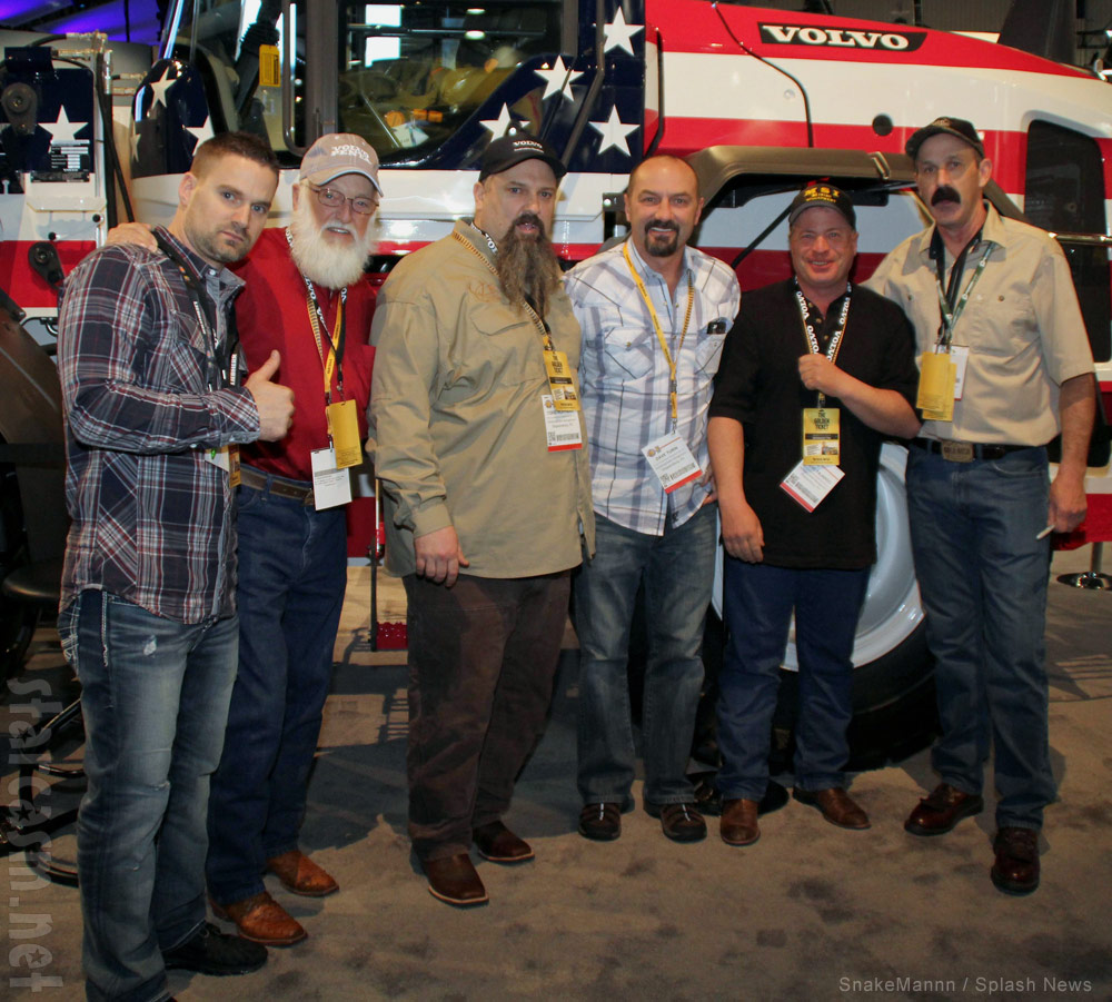 Gold Rush Hoffman Crew 2014 Kevin Hiatt, Jack Hoffman, Todd Hoffman, Dave Turin, Freddy Dodge and James Thurber