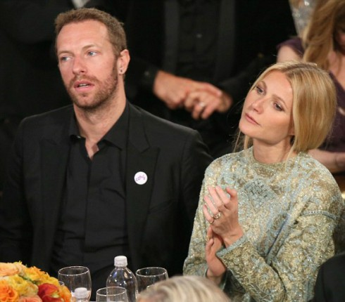 Gwyneth Paltrow - Chris Martin Awards Show