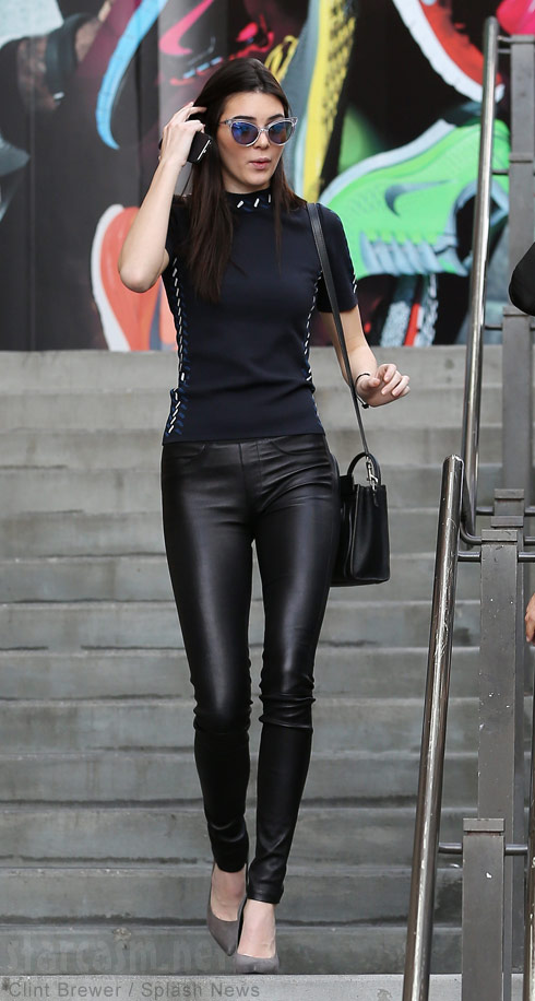 Kendall Jenner Catwoman look