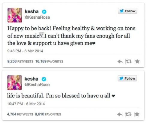 Kesha-tweets-post-rehab