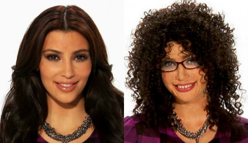 Kim Kardashian Before and After Celebrities Undercover
