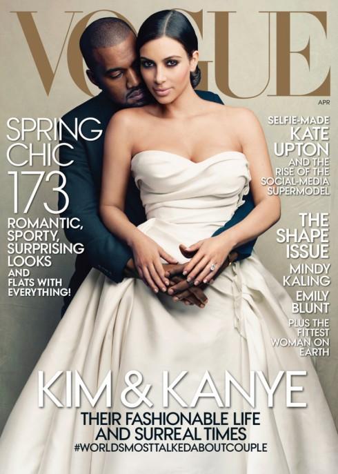 Kim Kardashian Vogue April 2014
