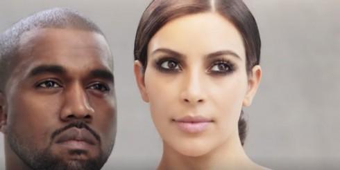 Kim Kardashian and Kanye West Vogue April 2014