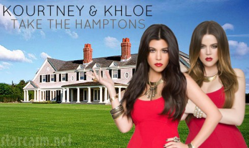 Kourtney and Khloe Take The Hamptons