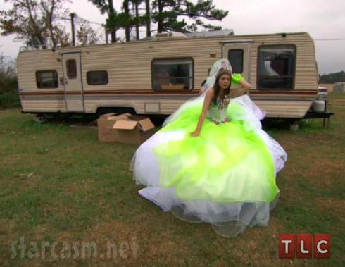 My Big Fat American Gypsy Wedding Season 3 trailer bright green dress
