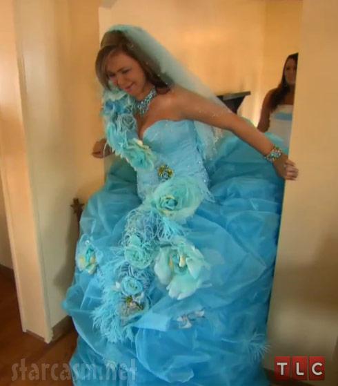 My Big Fat American Gypsy Wedding Season 3 blue dress