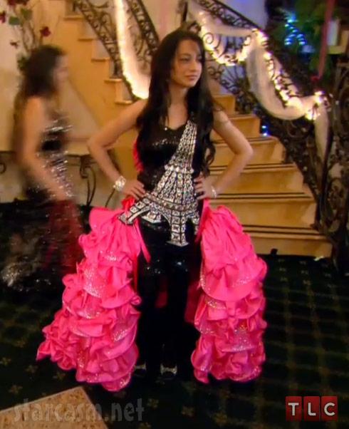 My Big Fat American Gypsy Wedding Season 3 Eiffel Tower dress