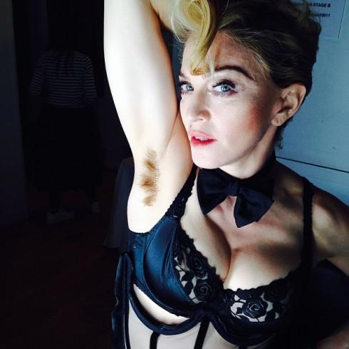 Madonna Armpit Hair