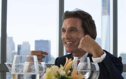 Matthew McConaughey Chest Pump