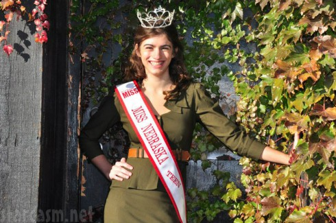 Miss Nebraksa Teen Michaela Wells - Pageant Photo