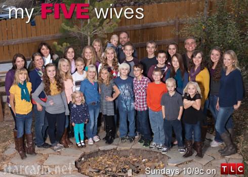 My Five Wives Brady Williams family photo