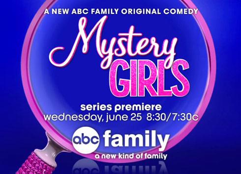 Mystery Girls ABC Family logo