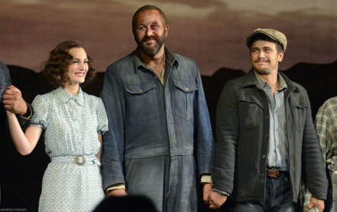 Of Mice and Men Broadway - Leighton Meester - Chris O'Dowd - James Franco