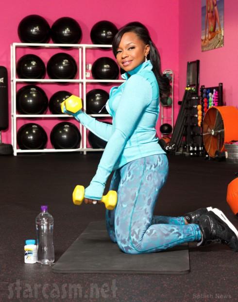 Phaedra Parks Xenadrine weight loss diet pill ad