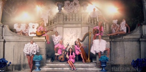 The Real Housewives of Beverly Hills star in Lady Gaga's G.U.Y. music video