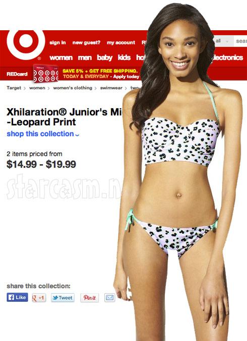 Target bikini Photoshop fail