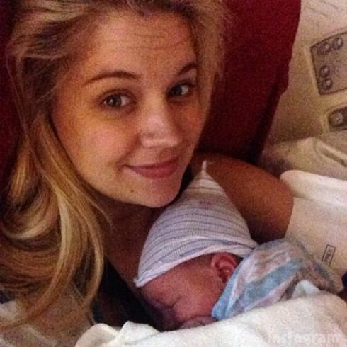Tiffany Thornton baby Bentley Cash Carney