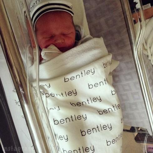Tiffany Thornton's baby Bentley Cash Carney photo