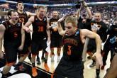 Kevin Canivare Mercer Bears Basketball Nae Nae Dance
