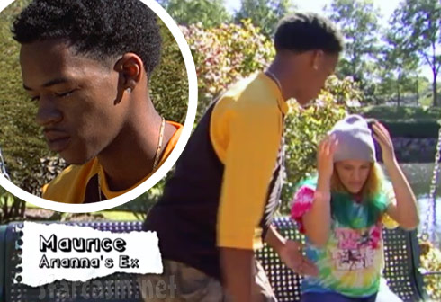 16 and Pregnant Season 5 Arianna's ex Maurice father of Arianna's son