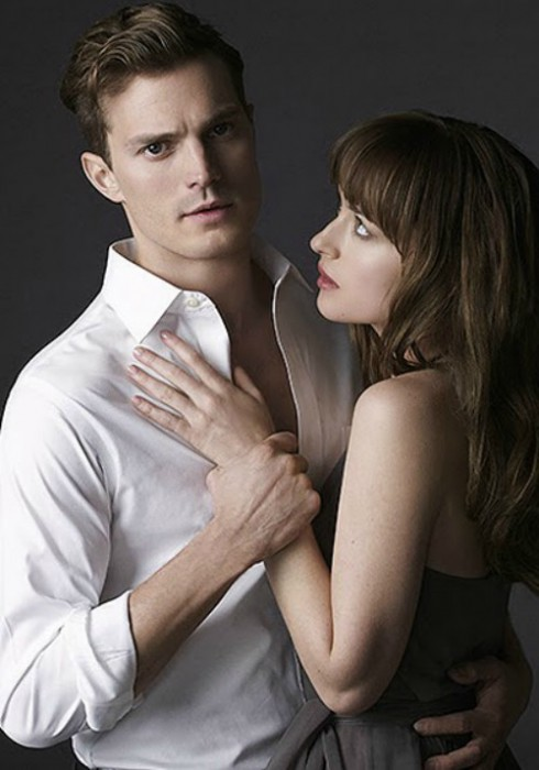50 Shades of Grey Poster Dakota Johnson Jamie Dornan