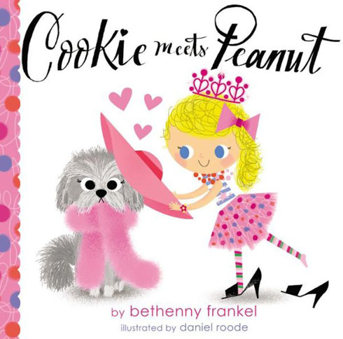 Bethenny children's book Cookie Meets Peanut cover
