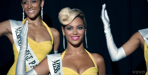 Beyonce Pretty Hurts music video Miss 3rd Ward pageant wave