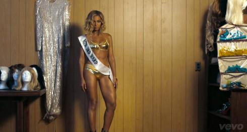 Beyonce Pretty Hurts music video bikini Miss 3rd Ward photo
