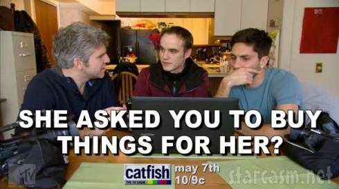 Catfish Season 3 Nev Schulman and Max Joseph quote