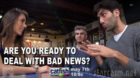 Catfish Season 3 Redneck Heaven bad news quote