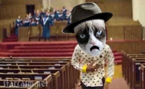 Grumpy Cat sings Happy by Pharrell Williams