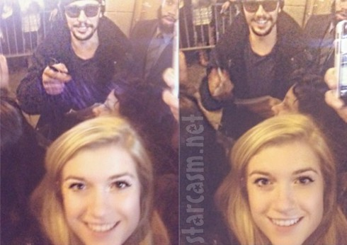 James Franco and Lucy Clode