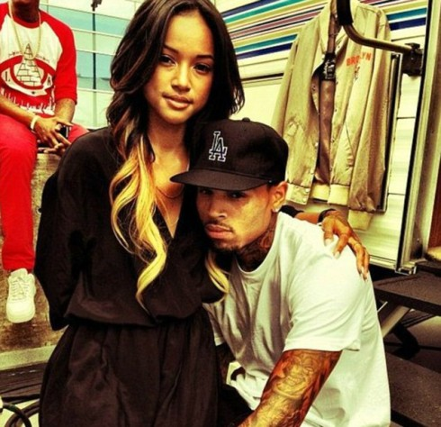 Karrueche Tran - Chris Brown Together