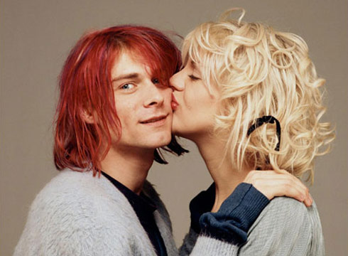 Kurt-Cobain-and-Courtney-Love
