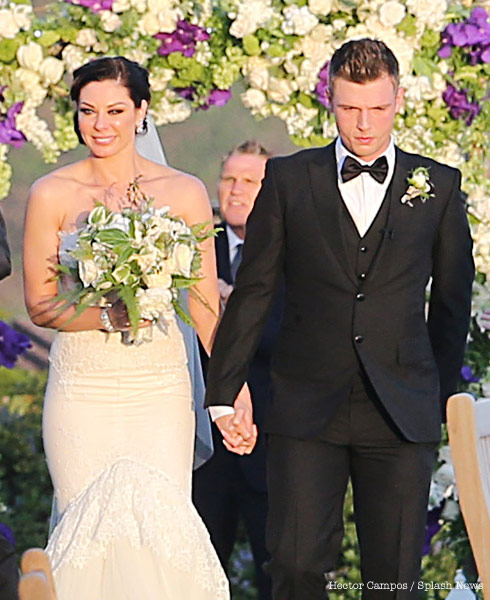Lauren Kitt Nick Carter wedding