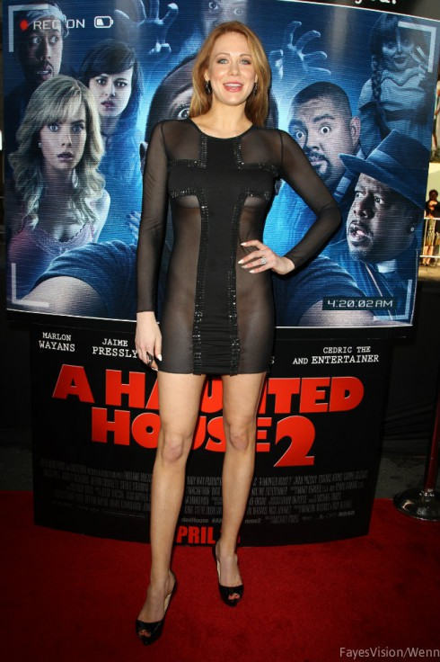 Maitland Ward Cross Dress Haunted House 2 Premiere