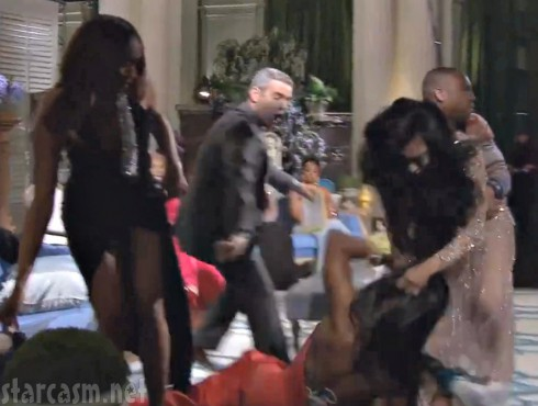 Real Housewives of Atlanta Fight