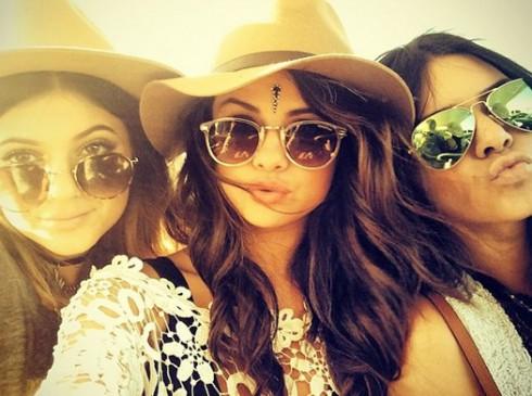 Selena Gomez Instagram Kendall Jenner Kylie Jenner