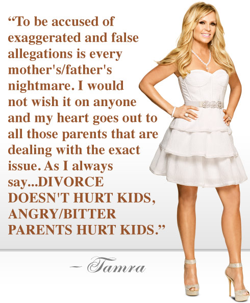 RHOC Tamra Judge custody quote