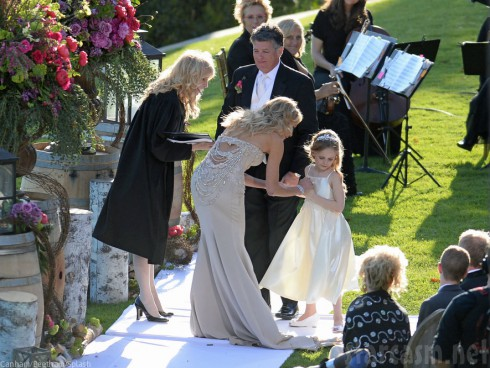 Taylor Armstrong Daughter Kennedy at Wedding