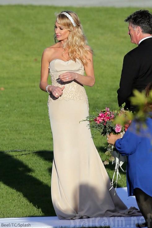 Taylor Armstrong Wedding Dress